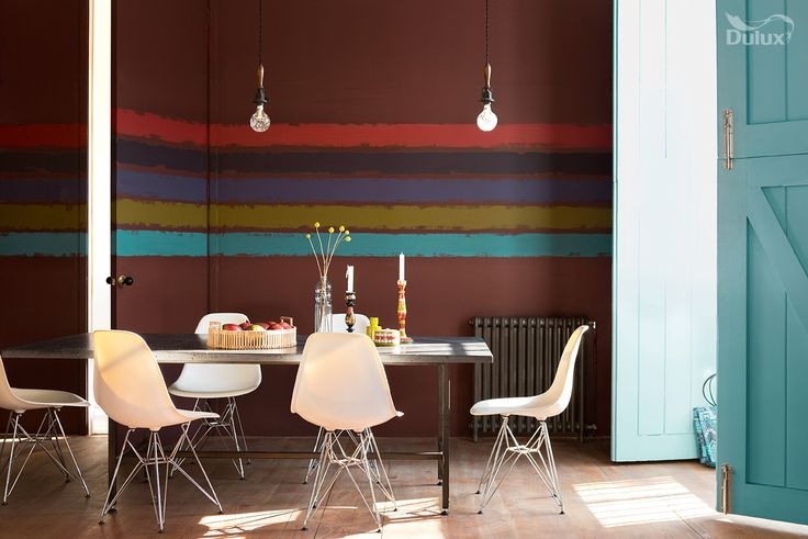 Reveal your creative spirit with bold stripes of colour.