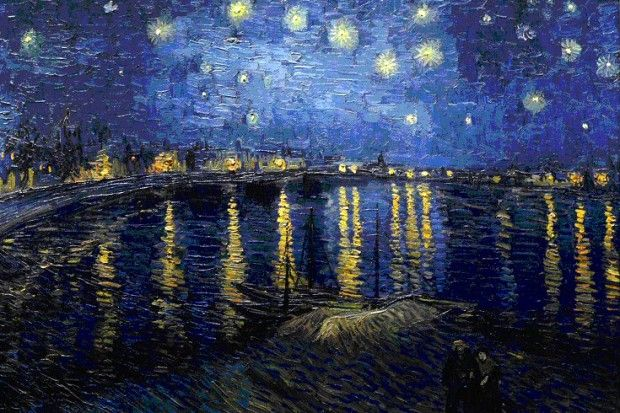 Vincent Van Gogh- Starry Night Over The Rhone