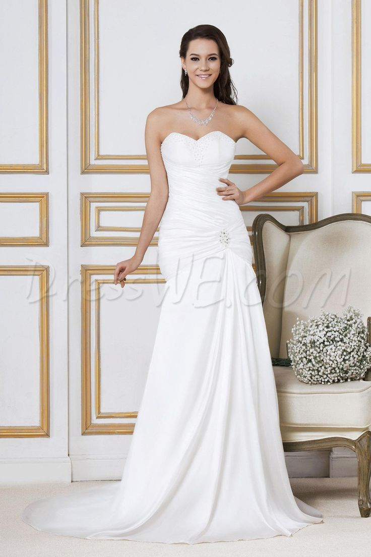 20 best Wedding Dresses images on Pinterest | Homecoming dresses ...