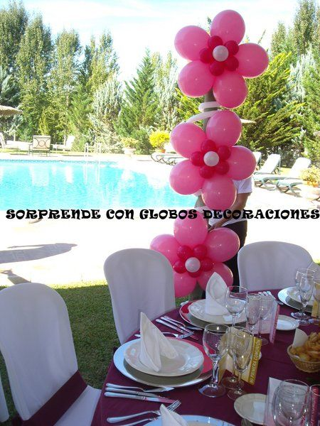 Decoracion para fiestas infantiles google search for Globos decoracion fiestas