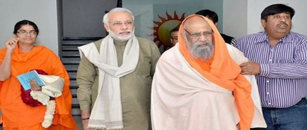 Modi mourns death of Swami Dayananda Saraswati For more info visit: a360news.com