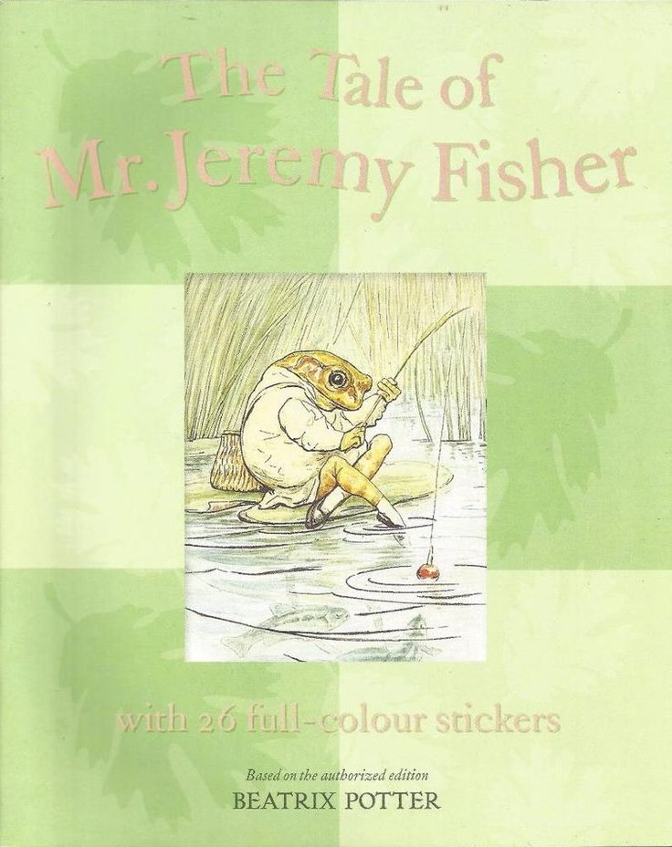 The Tale of Mr. Jeremby Fisher -With 26 Full-Colour Stickers - Beatrix Potter