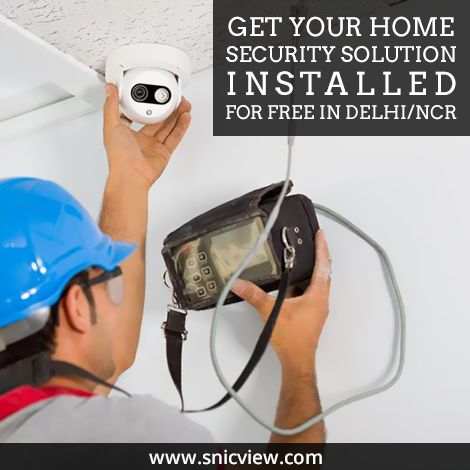 We got the best engineers for installation of your home security system. Installation free across Delhi/NCR. Visit to know more: http://www.snicview.com/