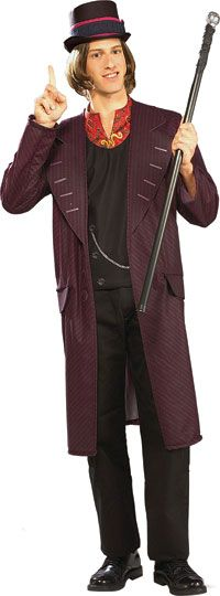 Adulte Willy Wonka Costume - Charlie et la chocolaterie Costumes
