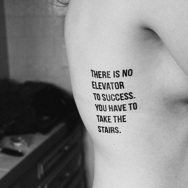 Ups and Downs Temporary Tattoo #Cool, #Motivational, #Tattoo