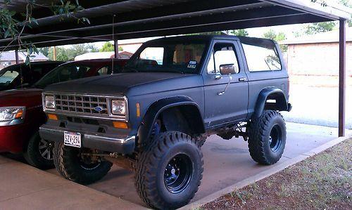 86 Bronco II, 5.0 auto, 9