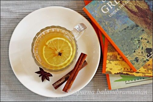 ... Kitchen: A Non-Alcoholic Hot Tea Toddy & A Photography Exercise