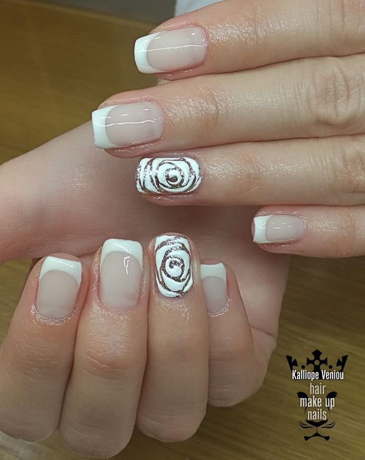French manicure  #nails #nailart #frenchnails #beauty #roses #naildesign #fotooftheday #salonnails #trusttheexperts  #beautymakesyouhappy  #beautymakesyouhappy  www.kalliopeveniou.gr