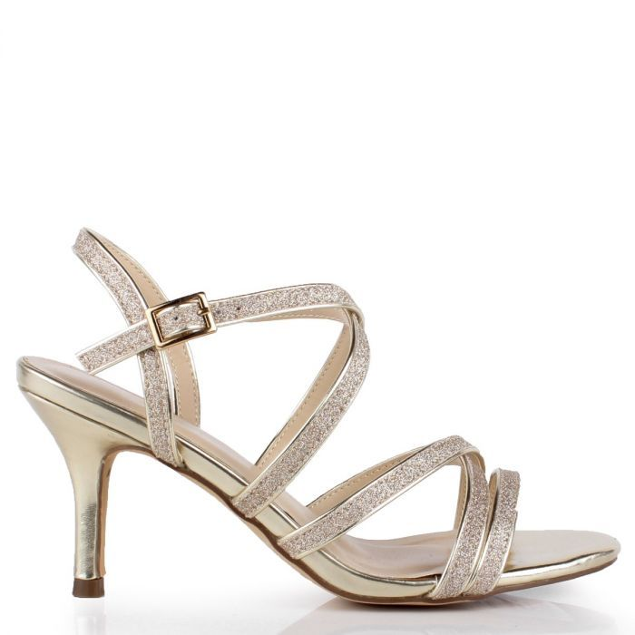 Occasion shoes, Low heel sandals