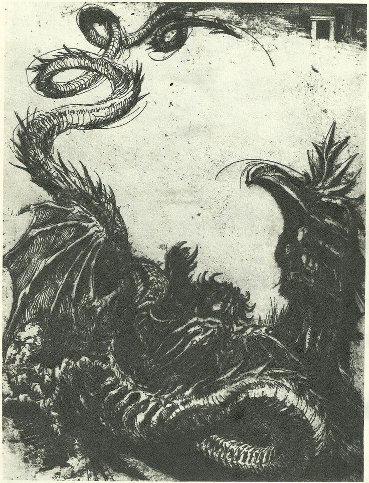 Marcel Chirnoaga, dragonul.