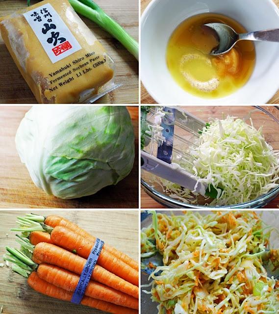 Miso Coleslaw | just a taste | Pinterest