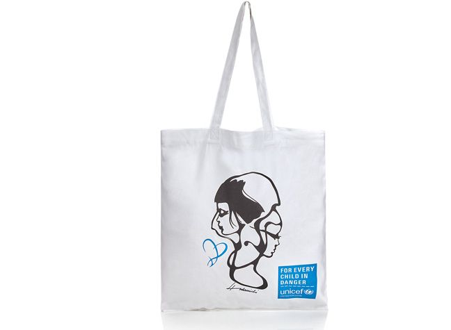 UNICEF Upcycled Cotton Tote Bag, Marks & Spencer, £4