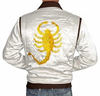 $119.00 - Ryan Gosling Drive Scorpion Jacket Pin it - If you like it.