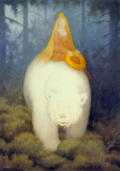 Theodor Severin Kittelsen (1857 – 1914) was a Norwegian artist.  Kittelsen became famous for his nature paintings, as well as for his illustrations of fairy tales and legends, especially of trolls.