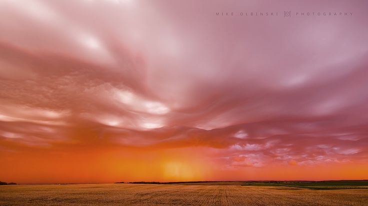 Mike Olbinski releases stunning sunset time-lapse featuring unusual cloud formations