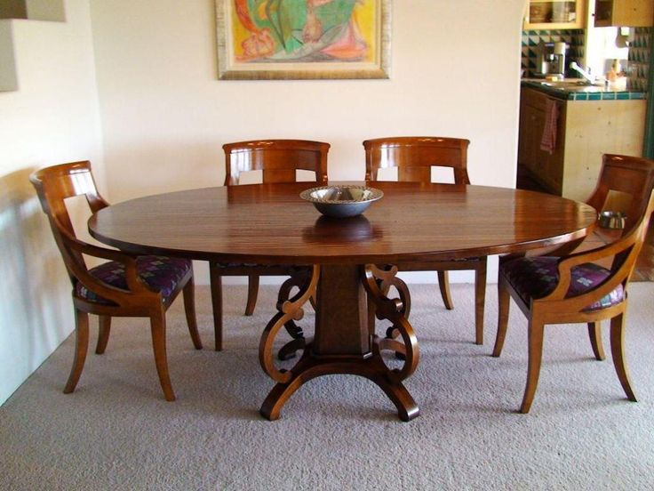 Kitchen: Cool Diy Oval Kitchen Table Also Oval Kitchen Dining Table From  The Center Of
