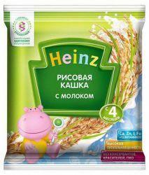 Хайнц кашка рисовая с молоком сашет с 4 мес 30г  — 18р. -------- Рис обладает высокой энергетической ценностью сочетании снизкой калорийностью, относится кгипоаллергенным злаковым продуктам. Имеет закрепляющее действие.     Благодаря добавлению цельного молока, кашки Heinz обладают высокой питательной ценностью, что исключительно важно для растущего организма малыша.     Продукт содержит только натуральные ингредиенты:    Без…