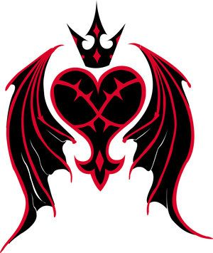 Kingdom Hearts Heartless Symbol planning on getting this on the back of my right theigh.