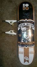 For $40.00 is an awesome Colin Mckay Plan B Skateboard with Venture Trucks!