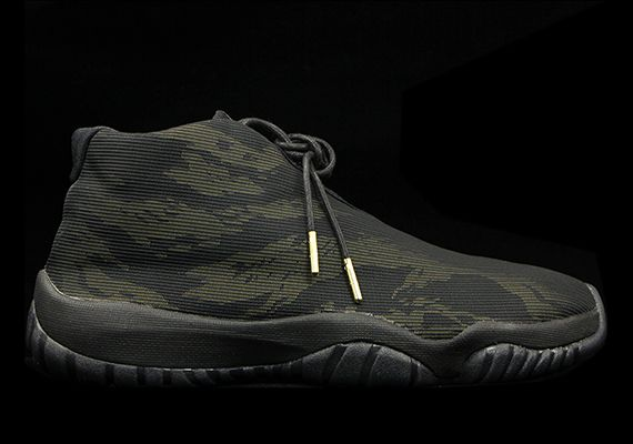 Jordan Future Black Tiger Camo 3M Reflective.