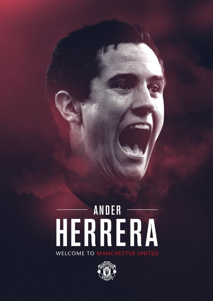 Ander Herrera is a Red! #mufc pic.twitter.com/QlpJba8uij