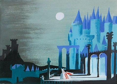My favorite illustrator!! always!! Mary Blair - Cinderella Concept Art