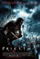 Priest (2011) HD - Youtube Full Movies: PRIEST, a post-apocalyptic sci-fi thriller, is set in an alternate world -- one ravaged by centuries of war between man and vampires. The story revolves around a legendary Warrior Priest from the last Vampire War who now lives in obscurity among the other downtrodden human inhabitants in walled-in dystopian cities ruled by the Church.