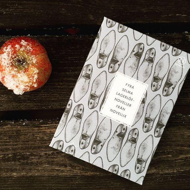 Grattis Selma! Idag firar vi din födelsedag med frostnupna äpplen och strimmor av novembersol 🍎☀️🎈 #selma158år #selmalagerlöf #novellix