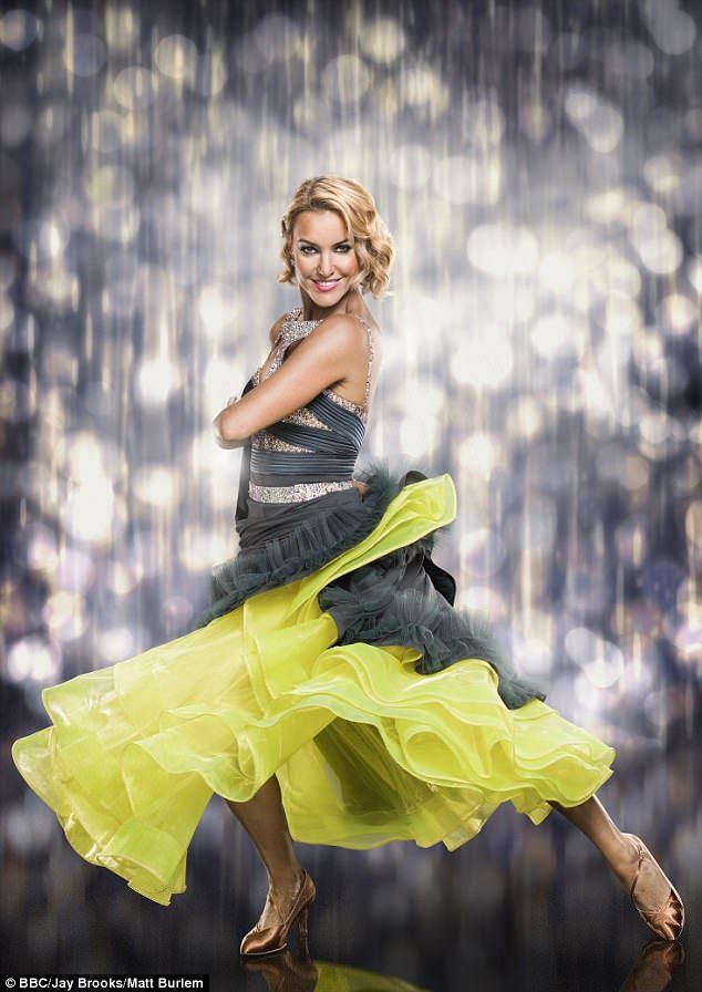 Last dance: Natalie Lowe, 36, has decided to resign from Strictly Come Dancing after seven years on the legendary BBC ballroom dance show