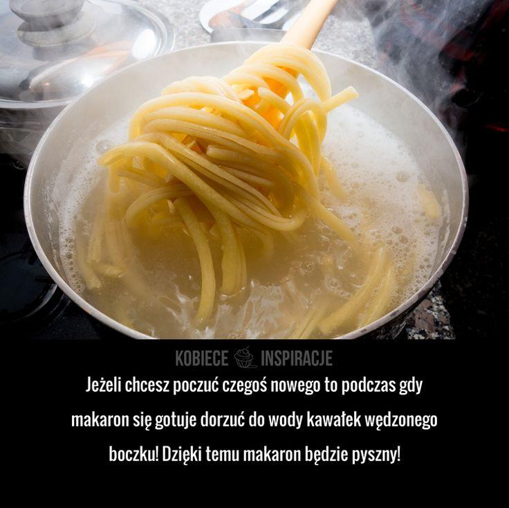 Jak urozmaicić gotowany makaron?
