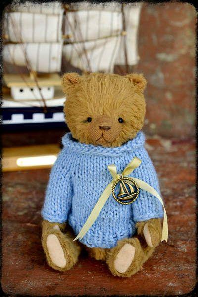 Teddy Bear Shipboy by By Krishchenko Nadya | Bear Pile