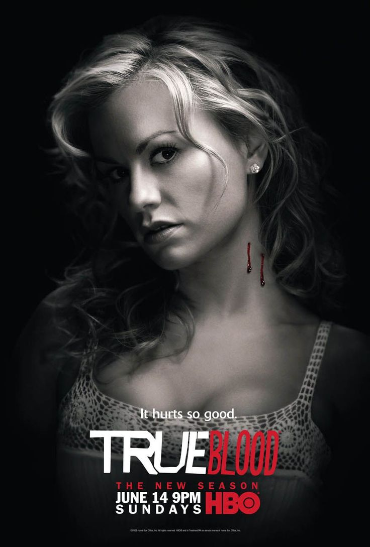 """TV063. """"Sookie Stackhouse - True Blood"""" / Promo Tv Movie Poster (XIV) by Ignition Print (2009)"""