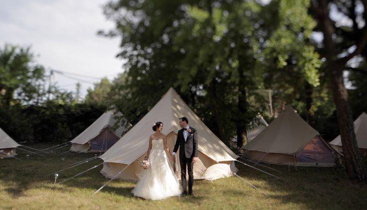 Still from Mia&Seby's wedding in the amazing Provence. #wedding #weddingday #realwedding #weddingvideo #weddingstories #video #stillvideo #tepee