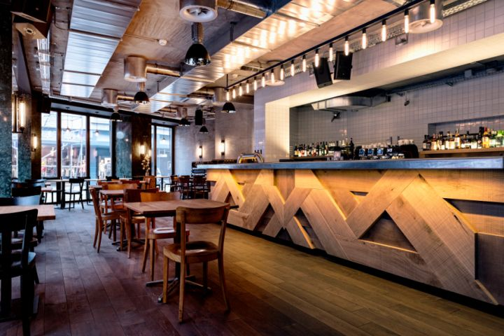 Бар-ресторан Löweneck в Цюрихе, Швейцария