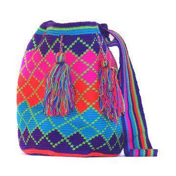 Fab.com | Crochet Mochila Bag