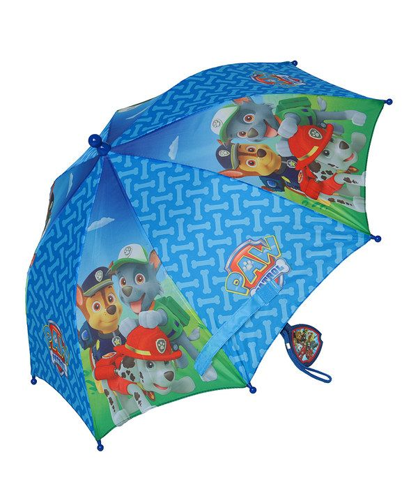 Look at this PAW Patrol Blue PAW Patrol Umbrella on #zulily today!