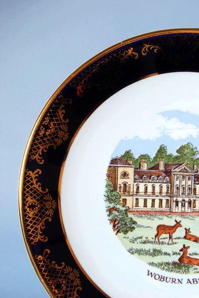 "Plato Vintage Decorativo ""Royal Falcon Ware"" Kitsch Madrid"