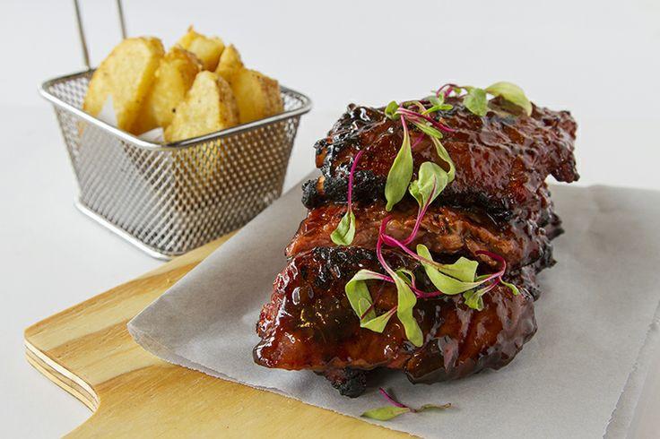 Sticky BBQ Spare Ribs CRAFT Restaurant Parkhurst