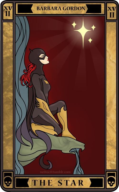 THE STAR: Barbara Gordon by ~ne0nic0. This makes me rethink completing the arcana the way they did in trinity.