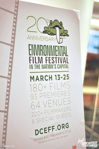 Environmental Film Festival ticket package in the Feast auction, showcasing our partnership!