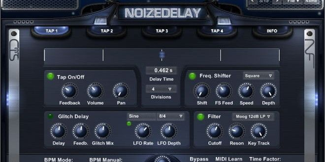 NoizeDelay Free VST Delay Plugin by Noizefield