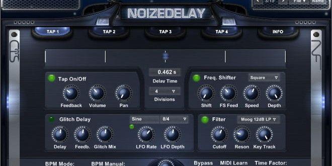 NoizeDelay Free VST Delay Plugin by Noizefield