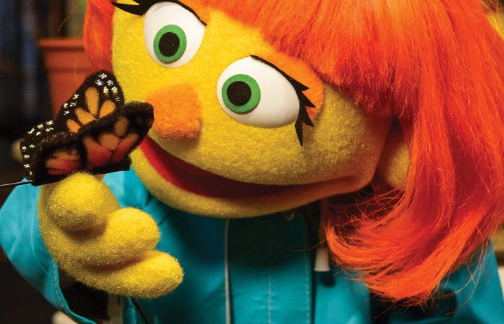 Sesame Street's Julia And The Proposed Public Broadcasting Funding Cuts