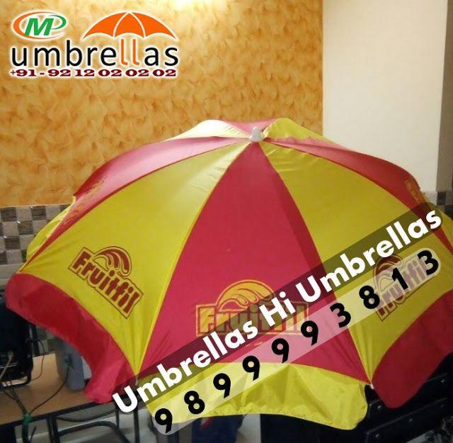 Fruitfil Advertising Promotional Umbrellas Manufacturers in Delhi, India