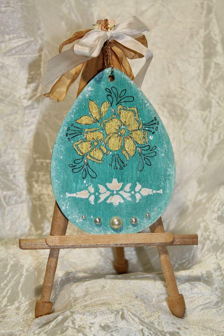 4Dekor вдохновение: Инструкция по применению: Декор деревянных яичек п...