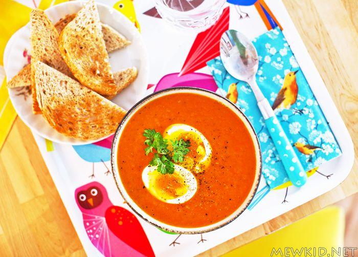 Oppskrift på nydelig og enkel tomatsuppe