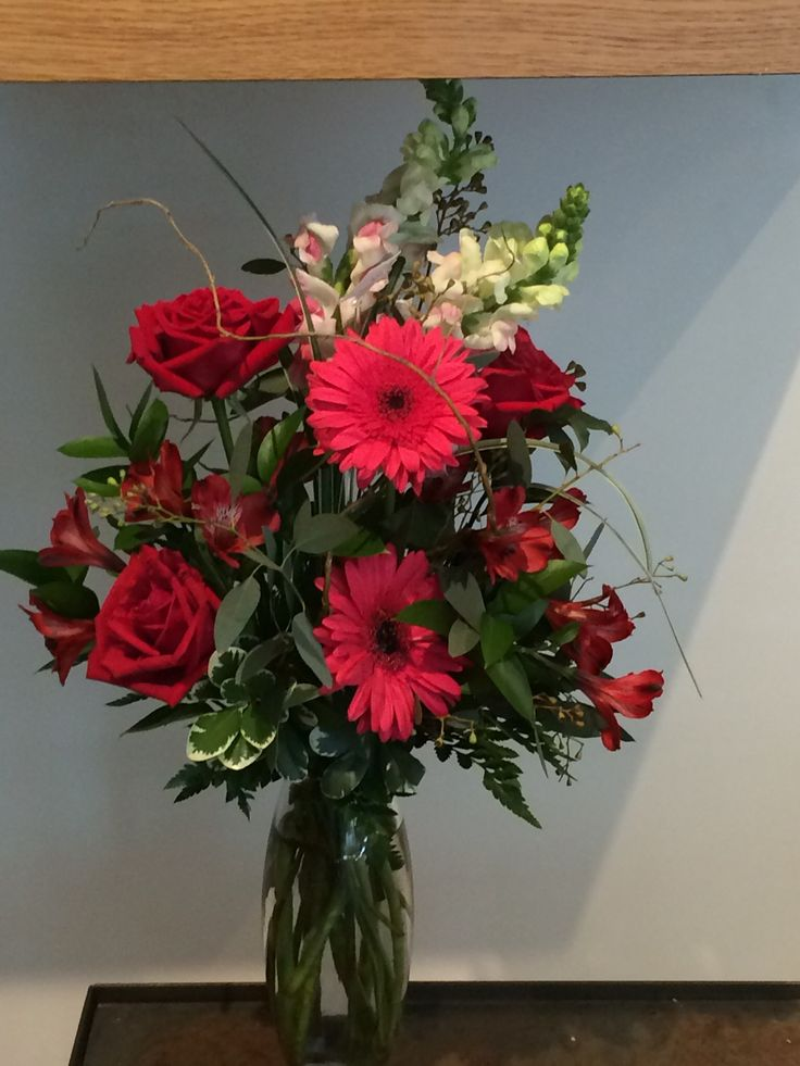 Bouquet from Swedish hospital