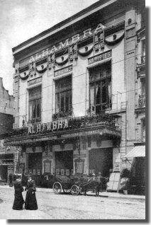 L'Alhambra Les Cafés-Concerts à Paris dans les années1900                                                                                                                                                                                 Plus