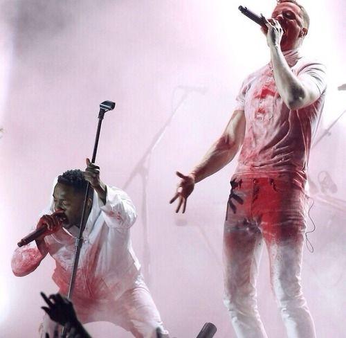 My favorite live performance ever: imagine Dragons and Kendrick Lamar