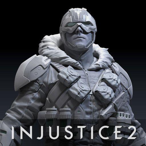 Injustice 2 - Captain Cold, Meng Guan on ArtStation at https://www.artstation.com/artwork/P1DJ1
